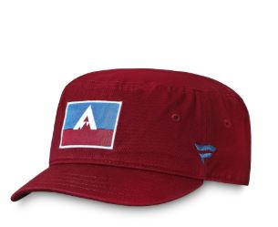 Men's Colorado Avalanche Fanatics Branded Burgundy 2020 NHL Stadium Series Cadet Adjustable Hat