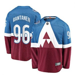 Men's Colorado Avalanche Mikko Rantanen Fanatics Branded Blue/Burgundy 2020 Stadium Series Breakaway Player Jersey