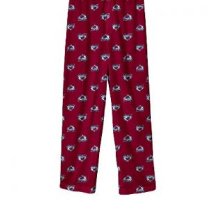 Preschool Colorado Avalanche Burgundy Team Logo Printed Pajama Pants