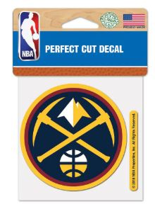 WinCraft Denver Nuggets 4″ x 4″ Color Perfect Cut Decal