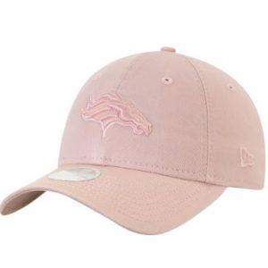 Women's Denver Broncos New Era Light Pink Core Classic Tonal Rouge 9TWENTY Adjustable Hat In Stock – This item will ship