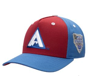Youth Colorado Avalanche Burgundy/Blue 2020 NHL Stadium Series Adjustable Snapback Hat