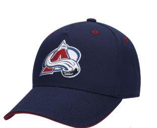 Youth Colorado Avalanche Navy Alternate Basic Adjustable Hat