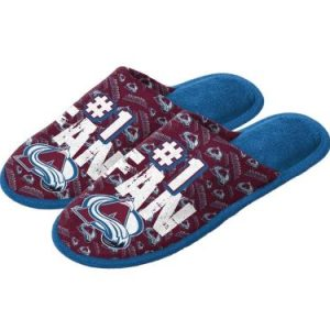 Youth Colorado Avalanche Scuff Slide Slippers
