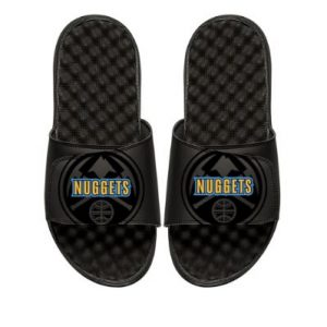 Youth Denver Nuggets ISlide Black Tonal Pop Slide Sandals