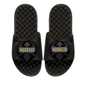 Youth Denver Nuggets ISlide Black Tonal Pop Slide Sandals